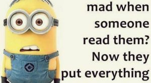 Minion Quotes and Gags…