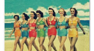 Sexy Vintage Girls Poster 03