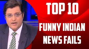 Top 10 – Indian News Channel's news reporting fails | SC #237