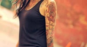arm tattoo designs for girls 11