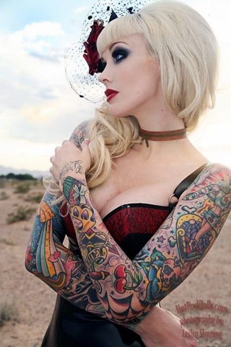 arm tattoo designs for girls 19