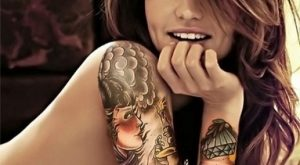 arm tattoo designs for girls 21