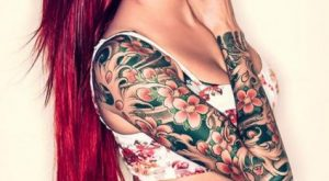arm tattoo designs for girls 26