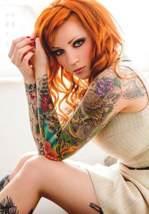 arm tattoo designs for girls 28