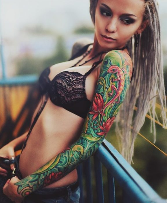 arm tattoo designs for girls 53