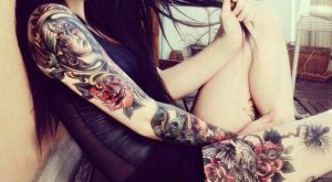 arm tattoo designs for girls 9