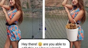Asking James Fridman for photoshop is a risky, risky move
