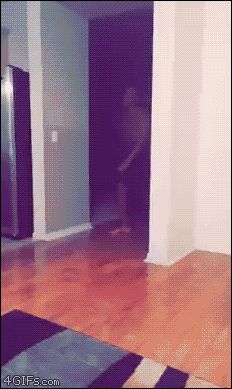 "Share this ""Dance fail headshot"" animated gif image with everyone. Gif4Share is best source…"