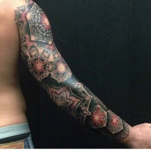 Full Arm Sleeve Tattoo by Nathan Mould