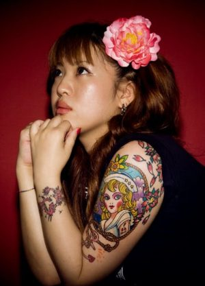 JAPANESE WOMEN TATTOOS