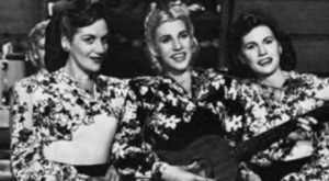The Andrews Sisters – Rum and Coca Cola