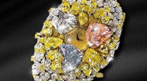 Watch Made from 201-Carat Gemstones – $25 million
