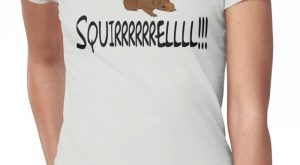 Christmas Vacation Quote – Squirrel! Women's T-Shirt