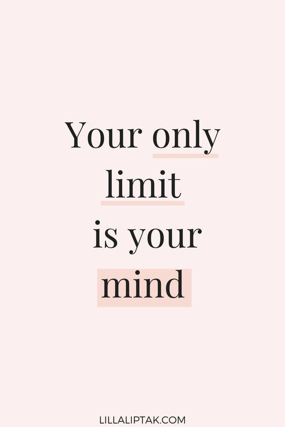 motivational quote – your only limit is your mind. motivation for creative entrepreneurs and…