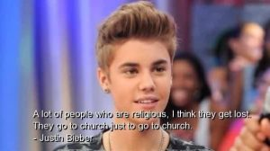 Celebrity Quote by Justin Bieber
