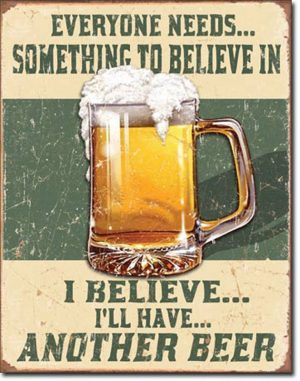 Funny Beer Drinking Quote Poster