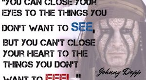 JOHNNY DEPP JIPOSHY QUOTES LIFE LOVE FEELINGS CELEBRITY WALLPAPER by jiposhy