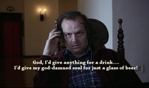 Movie quotes about drinking