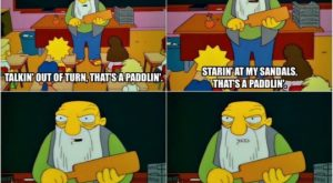 One of my favorite Simpsons quotes