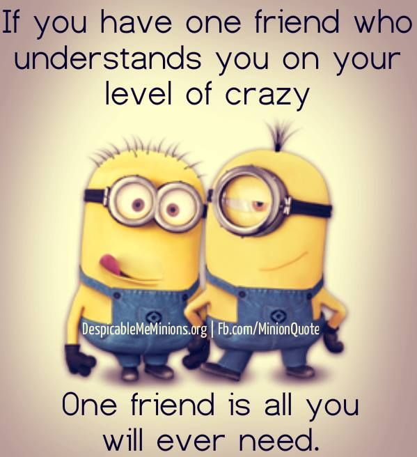 Weird conversations with your friend Minion Quotes – Fit for Fun