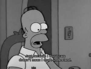 homer homer simpson quote simpsons text inspiring picture on Favim