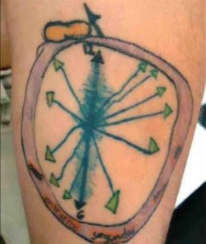 clock2 tattoo fail