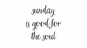 We devote our Sunday's to family. We slow down time and enjoy an unplugged…