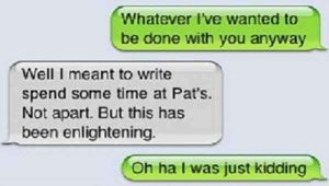 Funny Texts About Breakups That Are Down Right Brutal4
