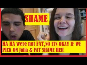 Brianna Jackfruitson & nutrionist laugh & fat shame Julia Boer comparing her to a…